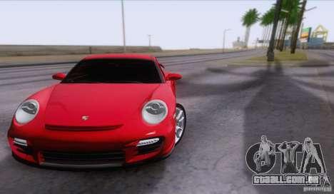 Porsche 911 GT2 para GTA San Andreas vista interior