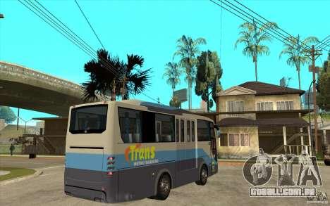 Hino Evo C para GTA San Andreas vista direita