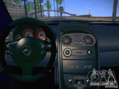 Mercedes SLR McLaren 722 para GTA San Andreas vista direita