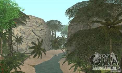 Ilha tropical para GTA San Andreas segunda tela