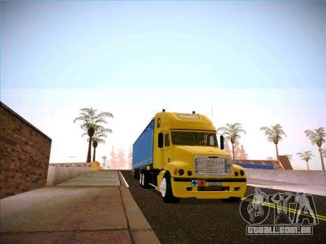 Freightliner Century Classic para GTA San Andreas vista traseira