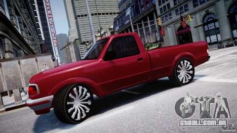 Ford Ranger para GTA 4 esquerda vista