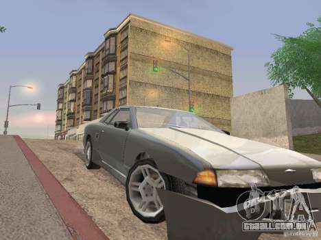 LowEND PCs ENB Config para GTA San Andreas oitavo tela