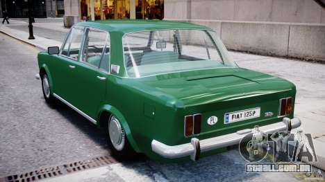 Fiat 125p Polski 1970 para GTA 4 vista direita