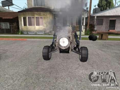 Turbo car v.2.0 para GTA San Andreas vista traseira