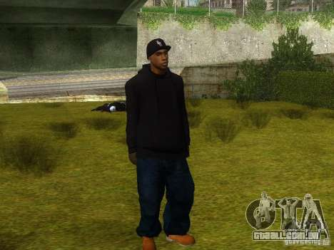 Crips para GTA San Andreas sexta tela