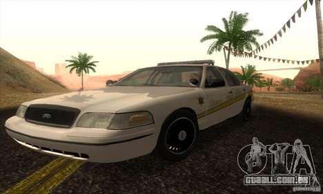 Ford Crown Victoria Illinois Police para GTA San Andreas