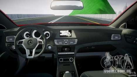 Mercedes-Benz CLS 63 AMG 2012 para GTA 4 vista direita