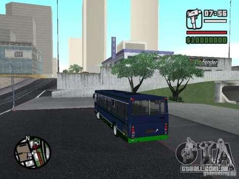 LIAZ 5256.25-II para GTA San Andreas esquerda vista