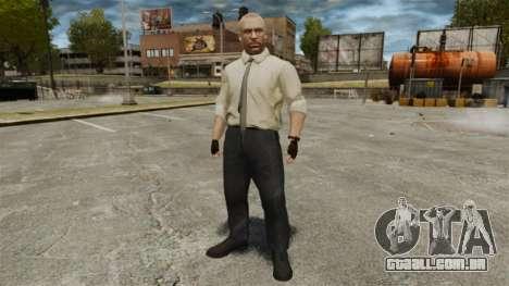 Jason Hudson para GTA 4 por diante tela