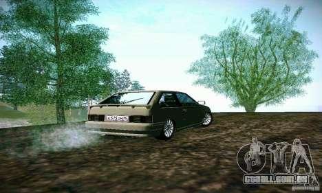 2113 Vaz para GTA San Andreas traseira esquerda vista