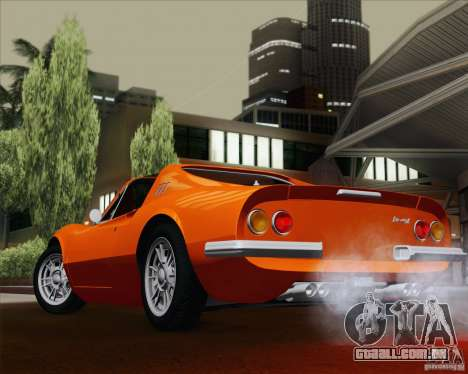 Ferrari 246 Dino GTS para vista lateral GTA San Andreas
