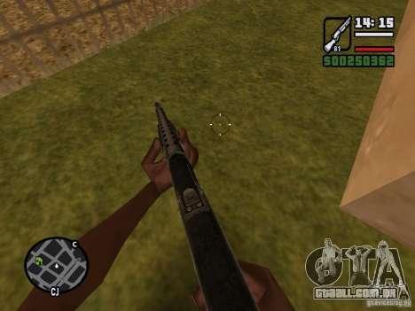 Espingarda para GTA San Andreas terceira tela