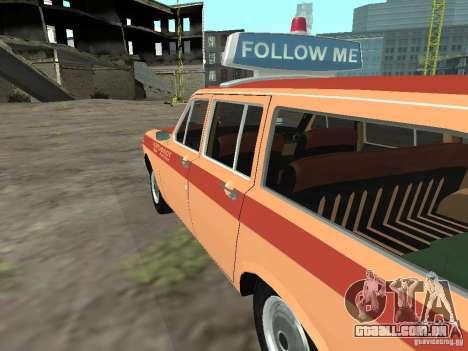 GAZ-24 Volga AEROFLOT 02 para GTA San Andreas esquerda vista