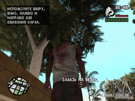 Markus young para GTA San Andreas sexta tela