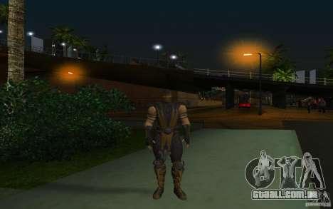 Scorpion v2.2 MK 9 para GTA San Andreas segunda tela