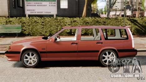Volvo 850 Wagon 1997 para GTA 4 esquerda vista