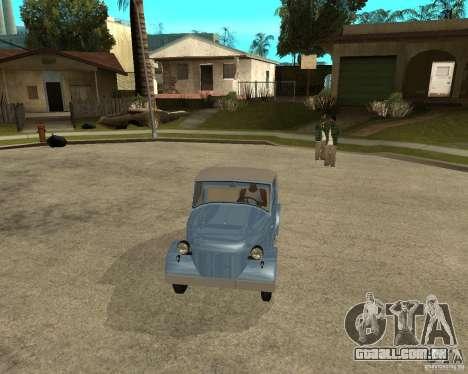 SMZ s-3A para GTA San Andreas vista traseira