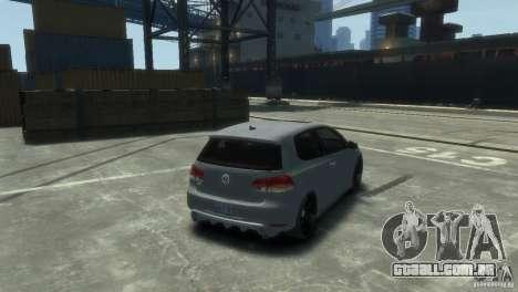 Volkswagen Golf GTI para GTA 4 esquerda vista