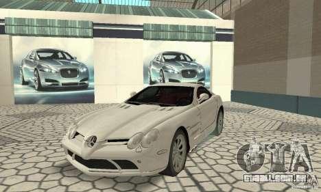 Mercedes-Benz McLaren V2.3 para GTA San Andreas esquerda vista