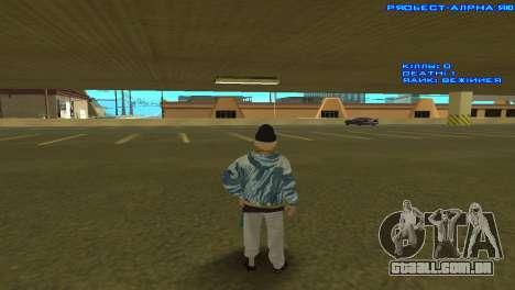 Vagos Girl para GTA San Andreas terceira tela
