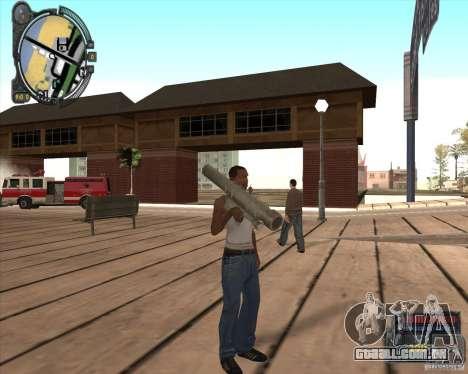 S.T.A.L.K.E.R. Call of Pripyat HUD for SA v1.0 para GTA San Andreas terceira tela