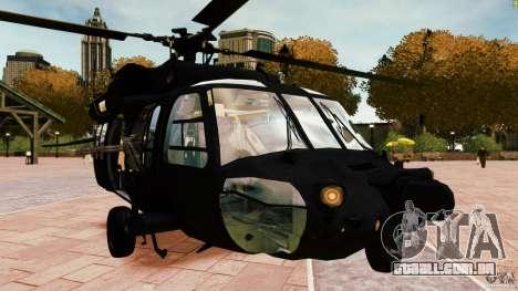 MH-60K Black Hawk para GTA 4 vista direita