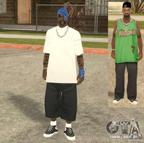 Compton Crips para GTA San Andreas quinto tela