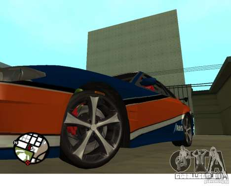 Rodas do jogo Juiced 2 Pack 1 para GTA San Andreas