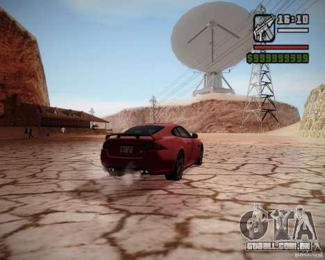 SA DirectX v1.2a para GTA San Andreas quinto tela