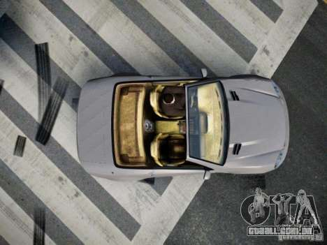 Feltzer BR-12 para GTA 4 vista de volta