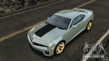 Chevrolet Camaro ZL1 2012 v1.2 para GTA 4 motor