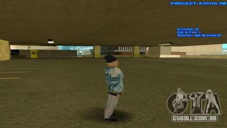 Vagos Girl para GTA San Andreas segunda tela