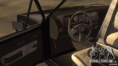 Volkswagen Golf para GTA 4 traseira esquerda vista