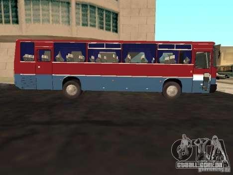 Ikarus 255 para GTA San Andreas esquerda vista