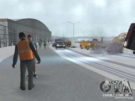 Aumentar o tráfego para GTA San Andreas terceira tela