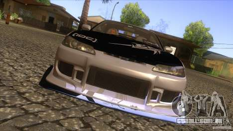 Nissan Silvia S15 Logan para GTA San Andreas vista interior
