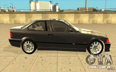 BMW E36 M3 - Stock para GTA San Andreas vista interior