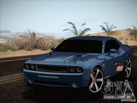 Dodge Challenger SRT8 2010 para GTA San Andreas