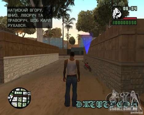 Ukraïnizator 2.0 para GTA San Andreas quinto tela