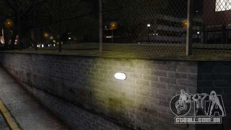 Luzes de luz amarelas para GTA 4 por diante tela
