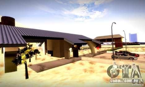 Drag Track Final para GTA San Andreas segunda tela