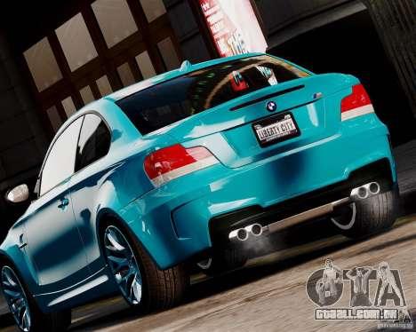 BMW M1 2011 v1.0 para GTA 4 traseira esquerda vista