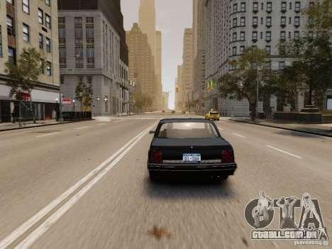 Oldsmobile Cutlass Ciera 1993 para GTA 4 vista de volta