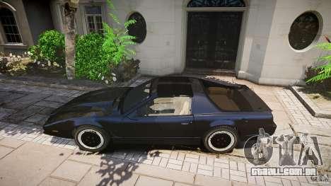 Knight Rider [EPM] para GTA 4 interior