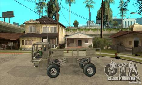 Fast Five Sand King para GTA San Andreas esquerda vista
