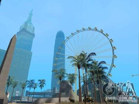New Dubai mod para GTA San Andreas quinto tela