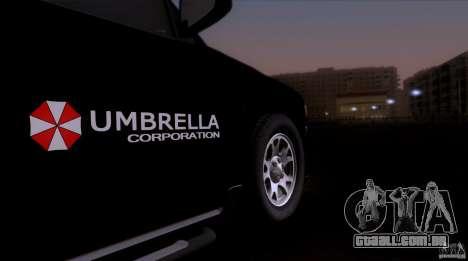 Chevrolet Suburban 2003 para GTA San Andreas traseira esquerda vista