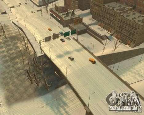 Chuva congelada para GTA 4 terceira tela