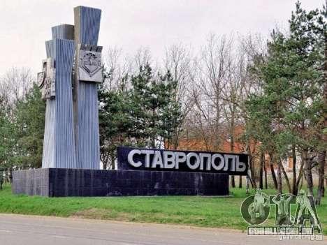 Tela de boot, a cidade de Stavropol para GTA San Andreas